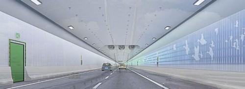 Fehmarnbelttunnel Straßentunnel Absenktunnel Entwurf
