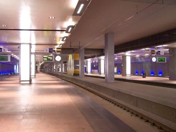 Antwerpen Centraal Tiefbahnhof Untergeschoss -2