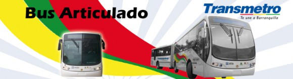 BRT Transmetro Barranquilla Kolumbien Schnellbus