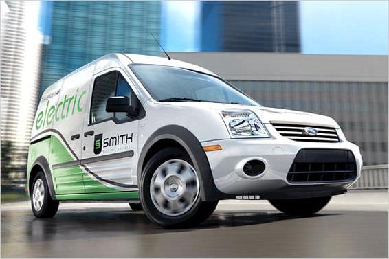Elektro-Lieferwagen für die Stadt: Ford Transit Connect BEV