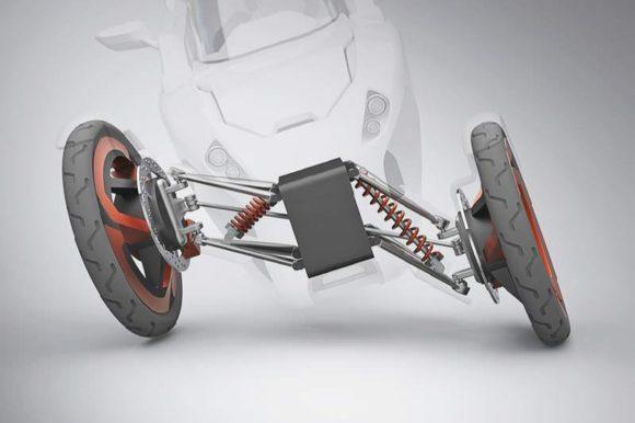 P.I.E.T. Elektrotrike Tricycle Designstudie KH Berlin