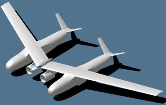 Northrop Grumman NASA Flugzeug des Jahres 2025 Entwurf Designstudie