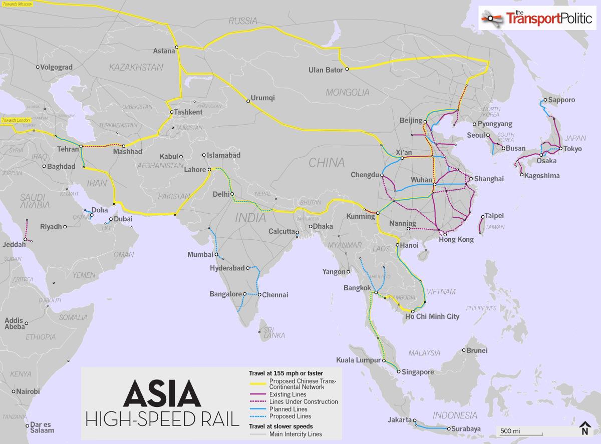 Die neue Seidenstraße: von China nach Europa mit der ...