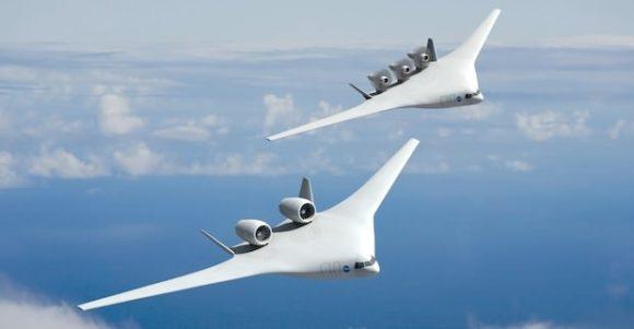 Boeing NASA Flugzeug des Jahres 2025 Entwurf Designstudie