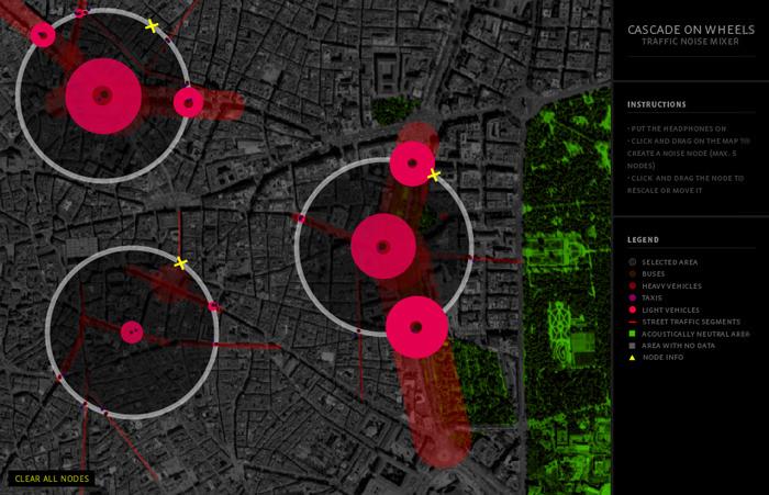 Visualisierung des (Echtzeit-)Verkehrs in Madrid, London ...
