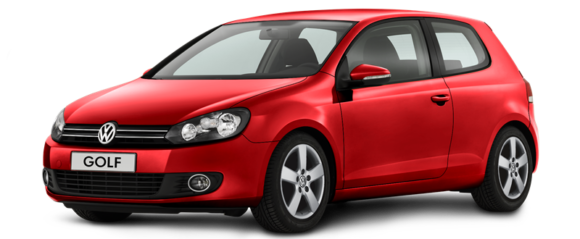 VW Golf VI Comfortline 1,2 l TSI in Rot