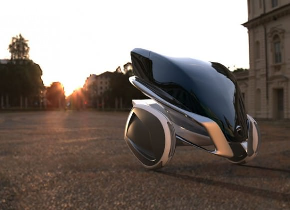 Kala Segway Alexandr Pronin Designstudie Zukunft Mobilität