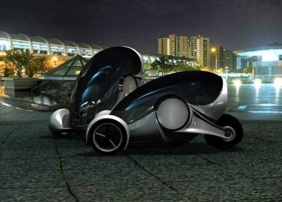 Apple iSync Apple Car Designstudie von Nathan Williams