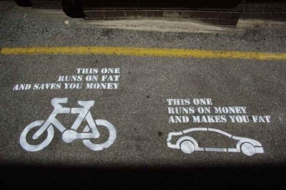 Fahrrad Auto Fettleibigkeit fett Analyse