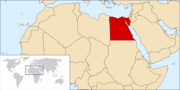 Weltkarte Ägypten Verkehrstote