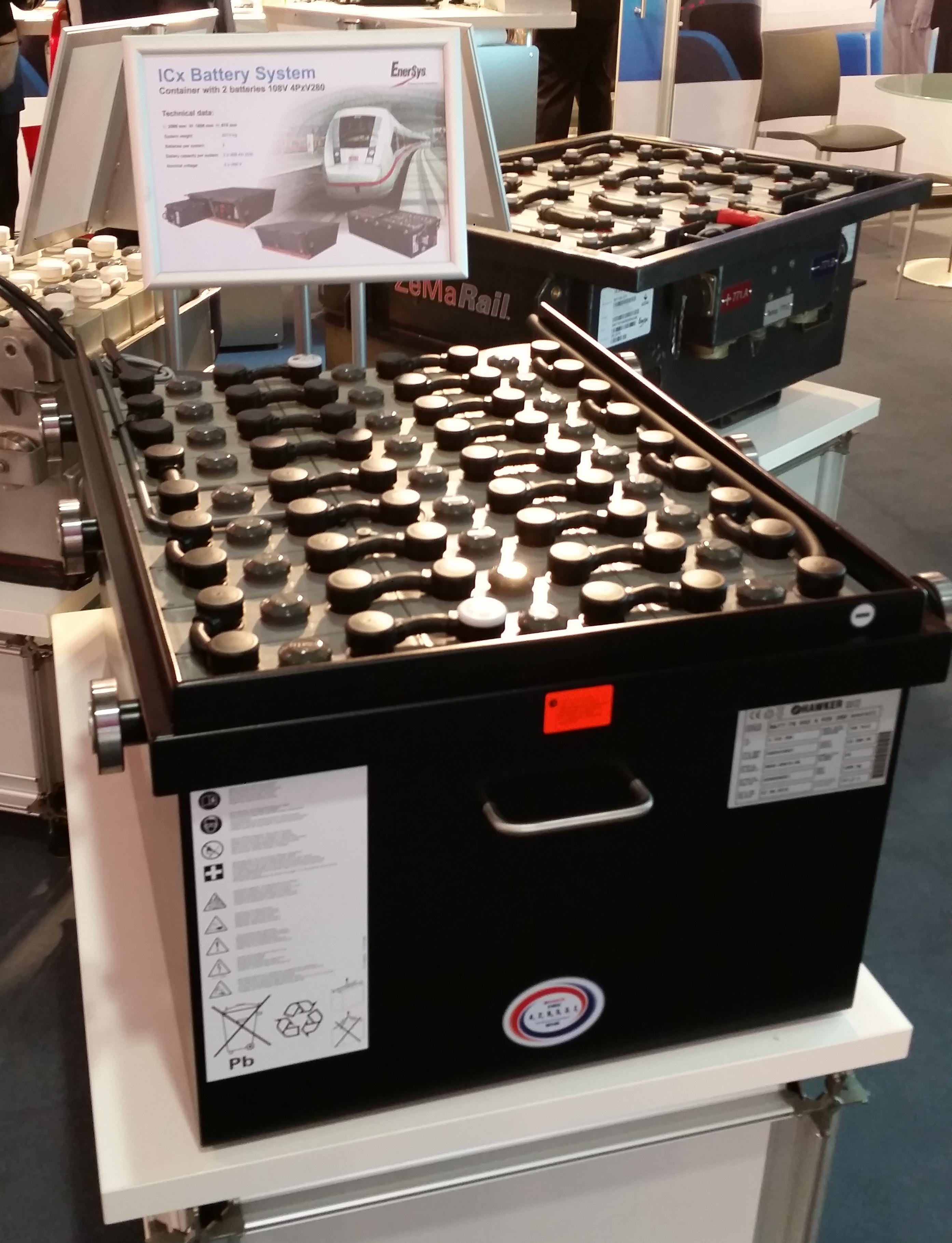 ICx Batteriepack Batterie