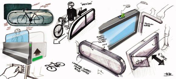 Fahrradfreundliche U-Bahn Station, U-Bahn, Fahrrad, Tune Koshy, Adair Heinz, Design, Chicago