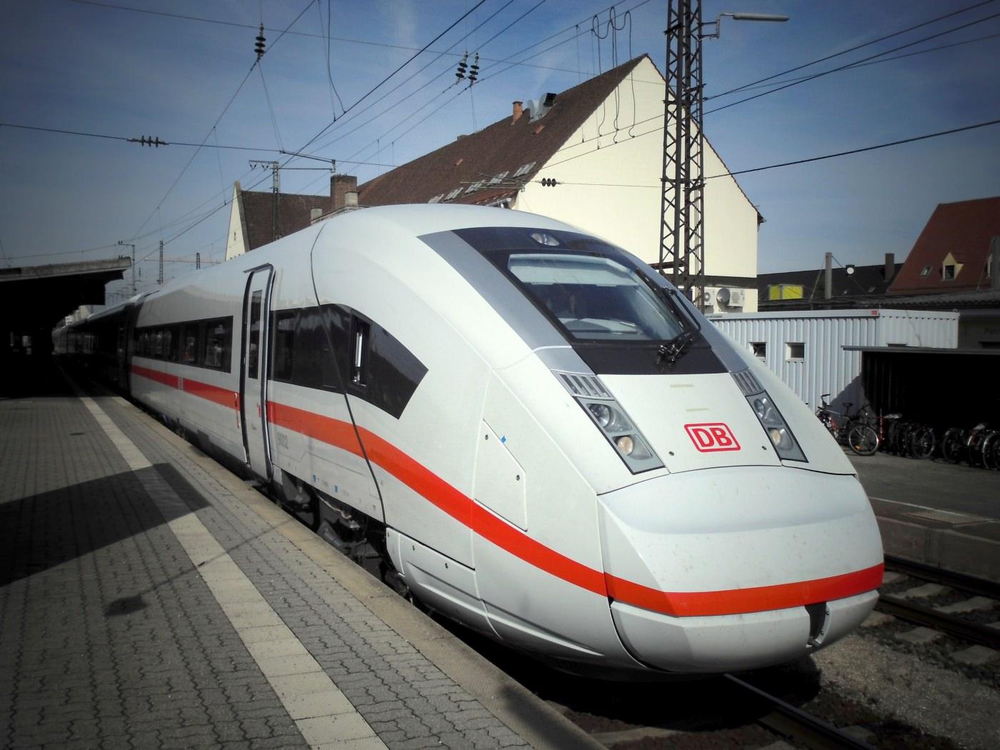 ICx Hochtastfahrten Deutsche Bahn Testfahrten Schienennetz
