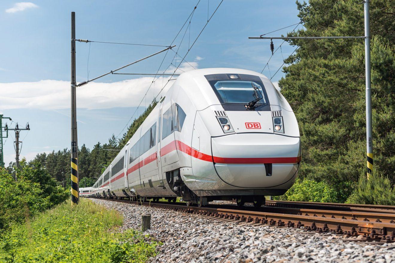 ICx BR 412 Deutsche Bahn Siemens Testfahrten