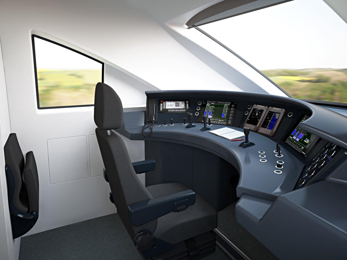 ICx Führerstand Siemens Deutsche Bahn