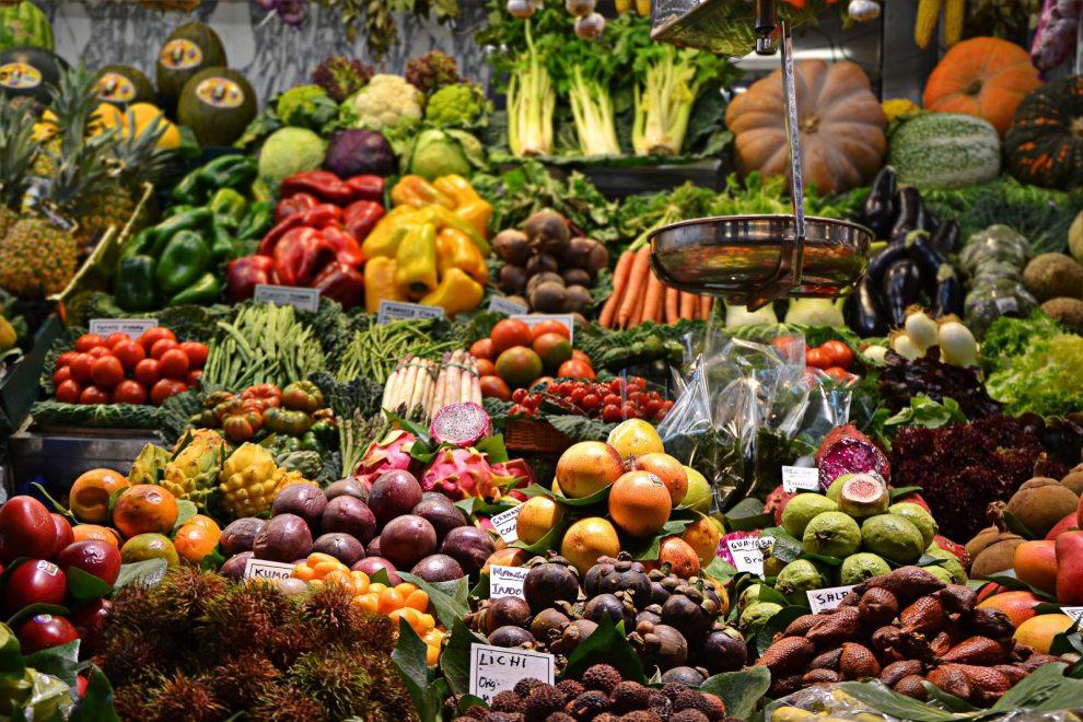 Supermarkt Einkauf Lebensmittel Marktstand Mobilität Verkehr