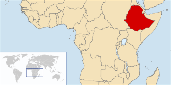 Äthiopien Karte Verkehrstote