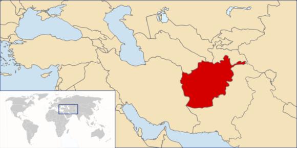 Afghanistan Karte Verkehrstote Unfälle