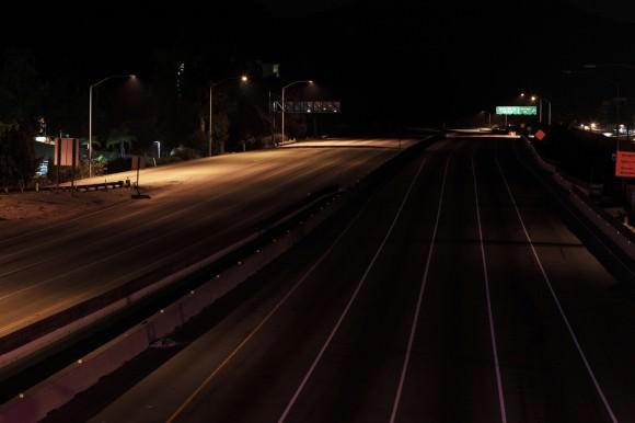 Carmageddon Leerer Interste 405 Los Angeles Bild
