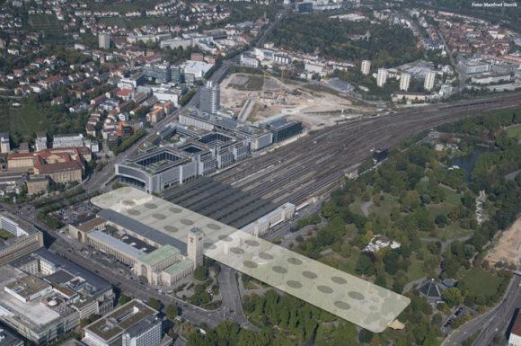 Stuttgart 21 Alter Hauptbahnhof K21 Lage von S21