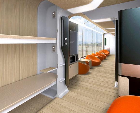 Andrey Chirkov Bombardier Reisezugwagen Zukunft Designstudie