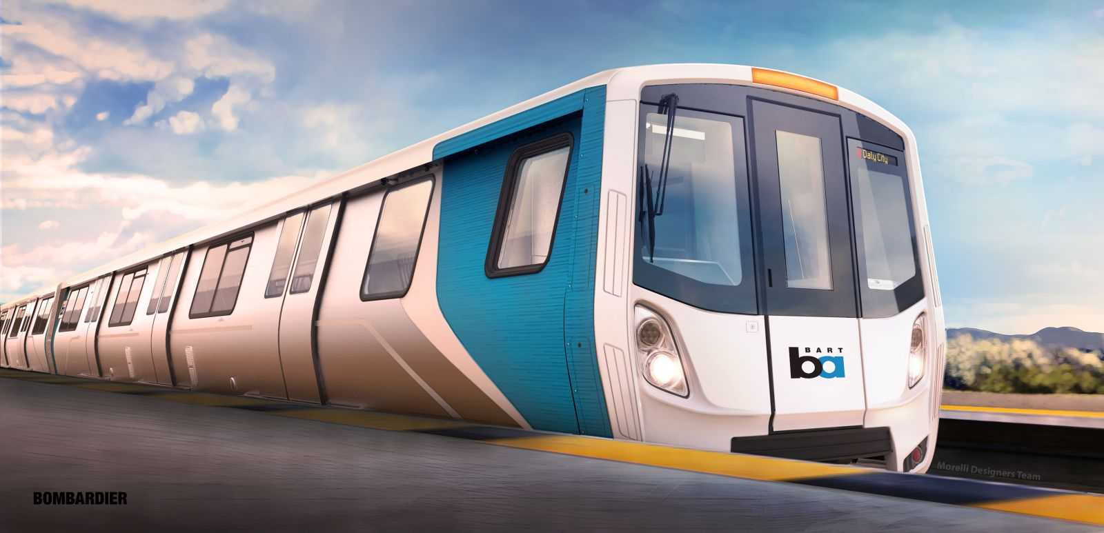 BART Zug Bombardier Fleet of the future