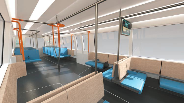 BART U-Bahn DesignWorks USA Konzept USA