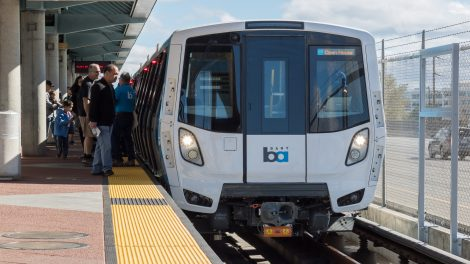 BART Fleet of the future Zug