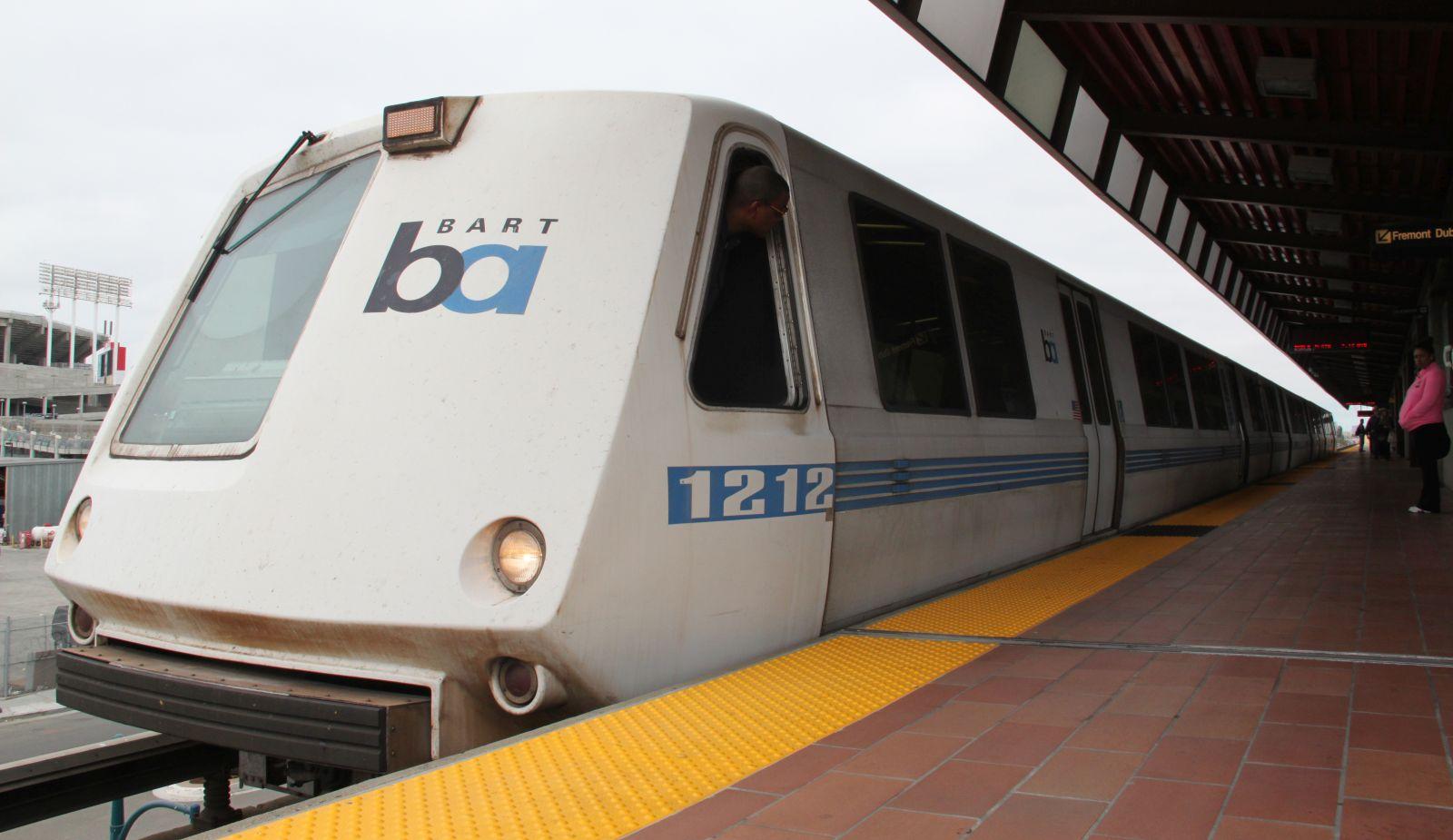 A-Wagen BART CC0 San Francisco Metro