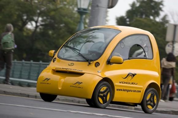 Kenguru, ein Fahrzeug für Rollstuhlfahrer, barrierefreie Mobilität