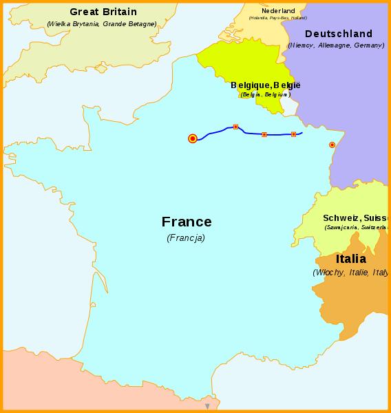 LGV Est européenne TGV Trasse von Paris nach Straßburg und deutschland / München, Stuttgart, Wendlingen - Ulm, Stuttgart 21
