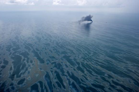 Ölteppich nach Deepwater Horizon katastrophe im Golf von Mexiko