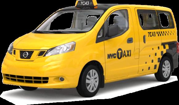 Nissan NV200, das Taxi der Zukunft in New York City Taximodell gegen Karsan V1 gewonnen