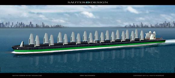 Sauter Carbon Offset Design Deliverance Solar Hybird Tanker Zukunft der Schifffahrt