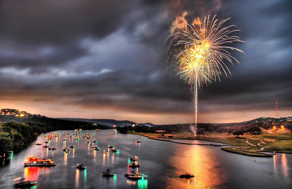 Feuerwerk zum Jahreswechsel Creative Commons