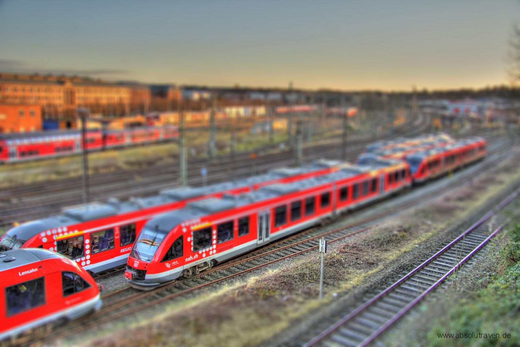 Tilt Movie Kiel Rene Raab Hauptbahnhof Kiel Modelleisenbahn