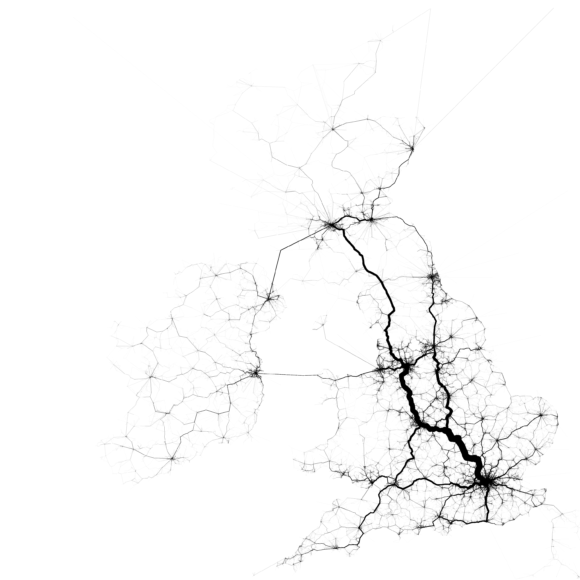 Verkehr Verkehrsströme Großbritannien UK