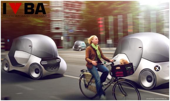 Elektro-Pod Amsterdam Vincet Montreuil Designstudie