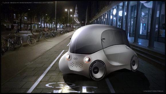 Vincet Montreuil Elektroauto Designstudie Amsterdam