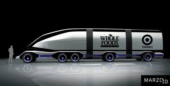 Volvo Ants Alex Marzo Lkw der Zukunft 2025 Designstudie