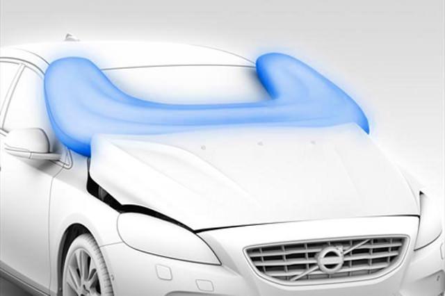 Fußgänger-Airbag von Volvo Unfallschutz