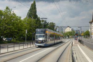 Leipzig Strassenbahn ÖPNV in Deutschland