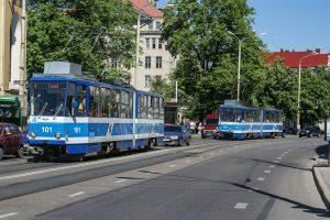 Straßenbahn Tallinn Estland Hauptstadt ÖPNV