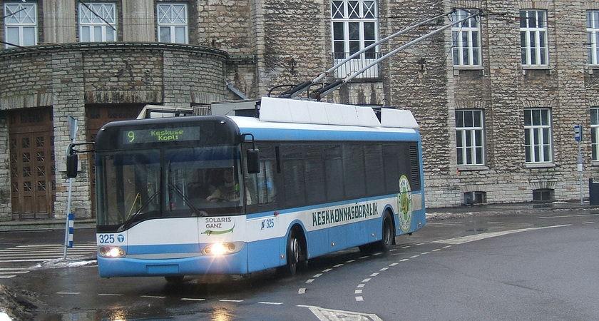 Trolleybus O-Bus in Tallinn Estland