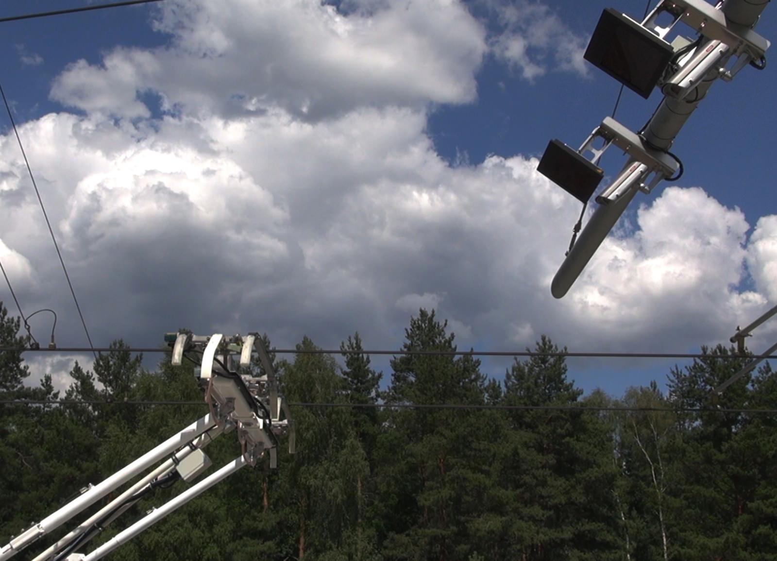 Überwachung Stromabnehmer SIEMENS