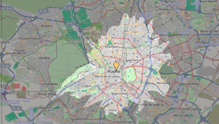 ÖPNV in Madrid Qualität des Nahverkehrs Zeitabhängigkeit