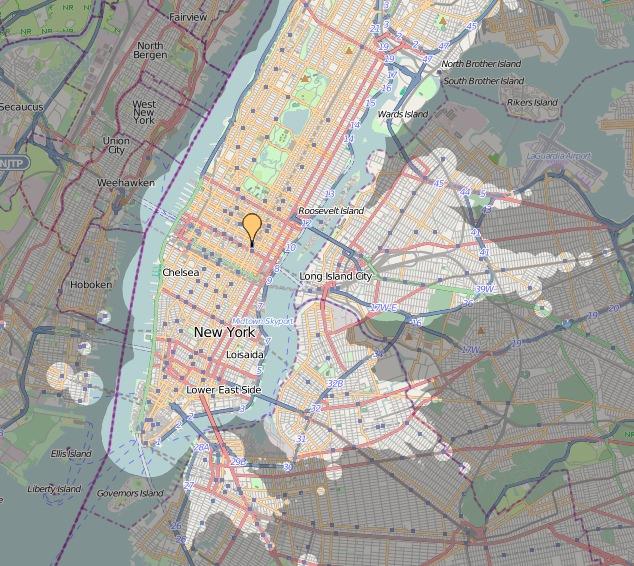 ÖPNV in New York Qualität des Nahverkehrs Zeitabhängigkeit