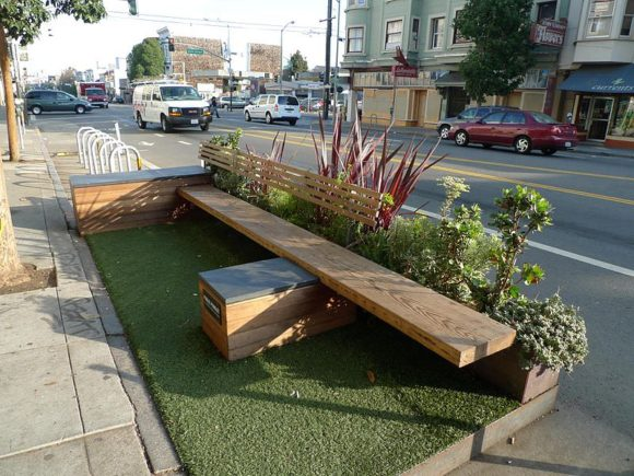Parklet in San Francisco