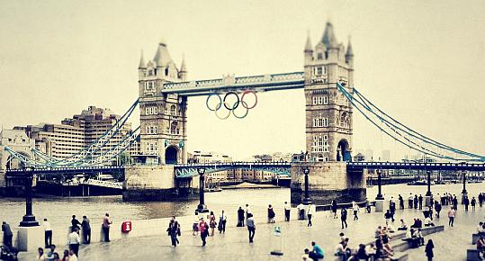 Olympische Spiele in London 2012 Verkehr Verkehrschaos