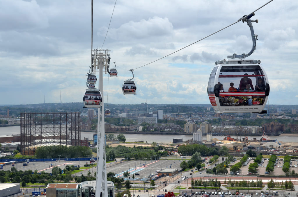 Seilbahn London Emirates Air Line